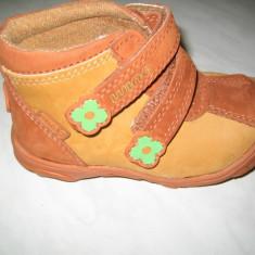 Pantofi copii Wink, Fete, Piele naturala - Pantofi piele fetite WINK;cod LL468-1(portocaliu);-3(pink);marime:21-26