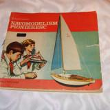 "Carte educativa - Cartea""Navomodelism pionieresc""-1984"