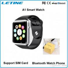 SmartWatch A1, Ceas Telefon Cu SIM si Micro SD, Sigilata In cutie. Android/IOS