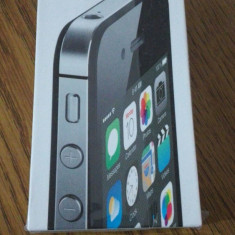 Telefon mobil Apple iPhone 4S 16GB Negru, Neblocat