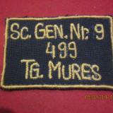 Colectii - Ecuson -Numar Matricol, sc generala nr 9 499 Tg Mures