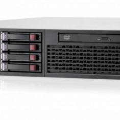 HP Proliant DL380 G7, 1x Intel Xeon Quad Core E5640 2.66Ghz, 32Gb DDR3 ECC, 2x 300Gb SAS, RAID P410I, 1x Surse, DVD-ROM - Server HP