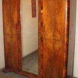 Mobilier - Sifonier din panel si lemn masiv, cu 3 usi; Dulap de dormitor