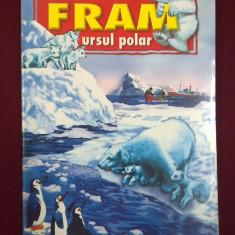 Carte de povesti - Cezar Petrescu - Fram, ursul polar - 551243