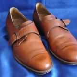 Pantofi barbati Lacoste vintage din piele. SALVATELLI, Made in Italy. Marimea 40