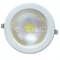 Bec / LED - 40W Spot LED COB Alb Natural 4500K