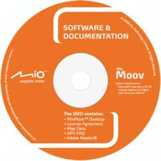 DVD instalare-actualizare hărţi pentru Navigatoare GPS - MIO Moov-S (2009) - Software GPS