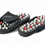 Echipament de masaj - Papuci pentru masaj reflexoterapie Foot Reflex