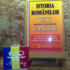 Radu Homer - Istoria romanilor teste pentru examenul de capacitate