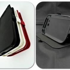 Husa Telefon - Toc FlipCover Stand Magnet Allview X2 Soul Style NEGRU