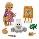Papusa Rapunzel Mini Animator cu accesorii