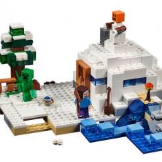 LEGO Minecraft - Ascunzisul din zapada (21120)