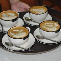 Set 16 forme pentru decorare cafea, capucino, prajituri