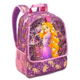 Papusa Disney - Ghiozdan Rapunzel cu luminite