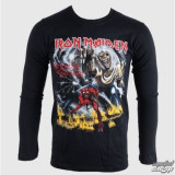 IRON MAIDEN Number Of The Beast (long sleeve) - Tricou barbati, Marime: S