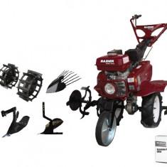 095102-Motosapatoare pe benzina 7 CP 3 viteze cu accesorii Raider Power Tools - Motocultor