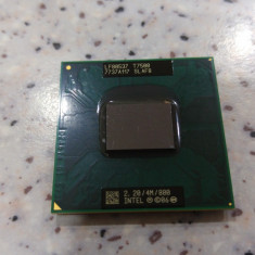 Procesor laptop intel core 2 duo T7500, 2.20Ghz, 4Mb, 800Mhz, socket P, 2000-2500 Mhz, Numar nuclee: 2, P