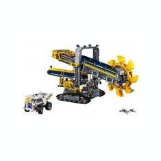 Excavator cu roata port cupe - LEGO Technic