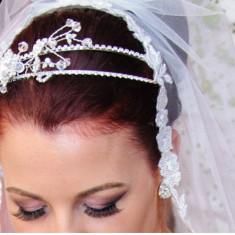 Accesoriu par nunta - cordeluta cristale