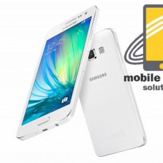 Samsung Galaxy A3 Dual Sim 16GB White! Factura si Garantie 24 de luni ! - Telefon Samsung, Neblocat, 1 GB