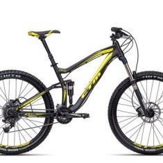 Biciclete Full Suspension CTM Rawer Pro, 2016, cadru MD, negru mat / galben Cod Produs: 035.10 - Mountain Bike
