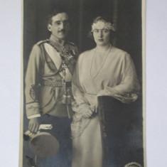 FOTOGRAFIE ORIGINALA(14 X 9)FOTO JULIETTA 1922 REGELE ALEXANDRU I/REGINA MARIA, Alb-Negru, Monarhie, Romania 1900 - 1950