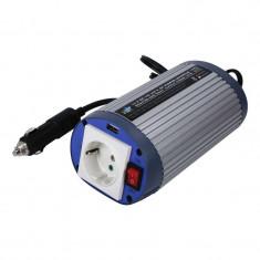 Invertor tensiune HQ, 150 W, 12-230 V, USB - Invertor Auto