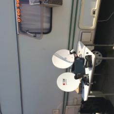 Antene satelit tir, rulote, cabane ETC