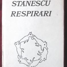 RESPIRARI, Nichita Stanescu, 1982. Coperta si ilustratiile autorului. Carte noua - Carte poezie