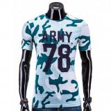 Tricou barbati Army, Marime: S, L, XL, XXL, Culoare: Din imagine, Maneca scurta, Bumbac