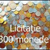 LICITAŢIE 300 MONEDE DIVERSE STRĂINE şi ROMÂNEŞTI + 2 Lei, anul 1875 - ARGINT!!!