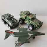 Jucarii de plastic, armata militare, Jeep, Tanc, Avion + BONUS 75 piese, China - Masinuta de jucarie, Baiat