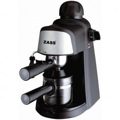 Espressor manual Zass ZEM 05, 800W, 3-5 bar, 0, 24 l, Negru - Espressor automat