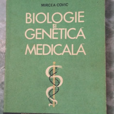 BIOLOGIE SI GENETICA MEDICALA -- Mircea Covic
