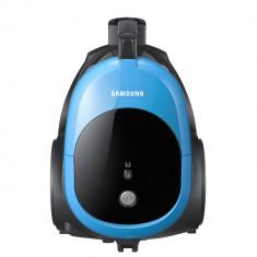 Aspirator Samsung VCC44E0S3B/BOL, fara sac, 1.3 l, Tub telescopic, 1500 W, Albastru/Negru - Aspirator cu Filtrare prin Apa