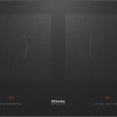 Plita Inductie Miele KM 6381 Facette PowerFlex, Inductie, 4 Arzatoare, Negru - Plita incorporabila