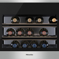 Vitrina de vinuri incorporabila Miele KWT 6112, 46 l, Clasa A+, H 45 cm, Inox - Vitrina Frigorifica