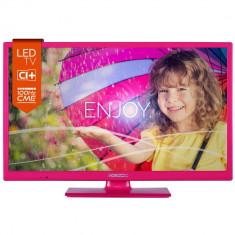 Televizor LED Horizon 24HL712H, LED, HD, 61 cm, Roz - Televizor LCD
