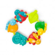 Bright Starts – 52028 Jucarie rontaitoare Buggie Bites - Jucarie dentitie copii