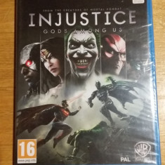 JOC WII U Injustice Gods among us Sigilat Original - by WADDER - Jocuri WII U, Sporturi, 16+, Multiplayer