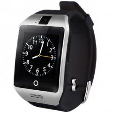 Smartwatch cu telefon iUni Apro U16, Camera 1, 3MP, Bluetooth, LCD 1, 5 inch, Memorie 8Gb, Carcasa metalica, Notificari, Argintiu