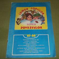 Lumea copiilor lumea povestilor 87-88 (revista Orizont Timisoara)