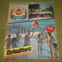 revista Cutezatorii nr 27-30 30 iulie 1987 (pionieri, Forum '87)