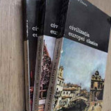 Civilizatia Europei Clasice Vol.1-3 - Pierre Chaunu, 158252 - Album Arta