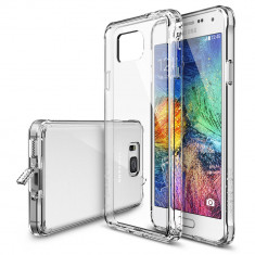 Husa Protectie Spate Ringke FUSION Crystal View plus folie protectie pentru Samsung Galaxy Alpha - Husa Telefon