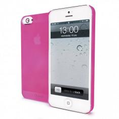 Husa Protectie Spate Muvit MUBKC0597 Ultraslim roz pentru Apple iPhone 5 - Husa Telefon Muvit, iPhone 5/5S/SE