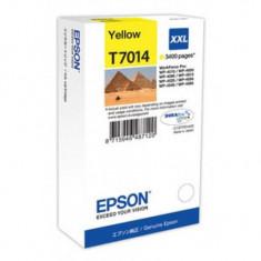 Cartus cerneala Epson T7014 yellow XXL - Cartus imprimanta