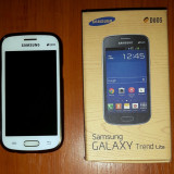 Samsung Galaxy Trend Lite Duos - Telefon mobil Samsung Galaxy Trend Lite, Alb, Neblocat, Dual SIM