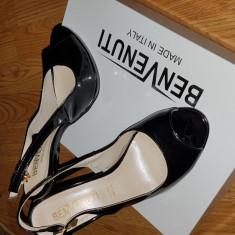 Sandale BENVENUTI - Sandale dama Benvenuti, Marime: 37, Culoare: Negru
