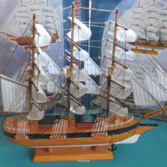 Macheta corabie-cadou-navomodel- - Macheta Navala, 1:1200
